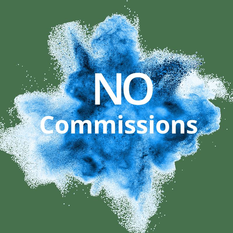 No Commissions